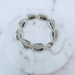 Jewelry - 5 for $25 Silver Color Sea Shell Bracelet